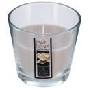 bougie parfumées verre garde nina 135g, beige