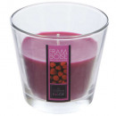 doftljusglas framb nina 135g, rosa