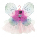 spring of wings + tutu, 2- times assorted , multic