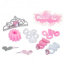 wholesale Hair Accessories: coif accessories prin tiare + elastic, 3-fold asso