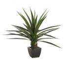 green plant pot h130, green