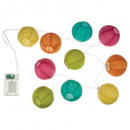 grossiste Fournitures de bureau equipement magasin: girlande led multicolore 120, multicolore