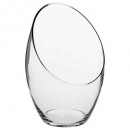 vase bombe transparent h32.5, transparent