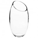 transparent bomb vase d14.5xh27.5, transparent