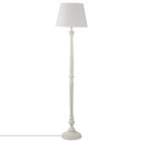 white wood floor lamp h153, white