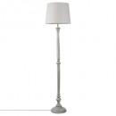 lámpara de pie de madera gris h153, gris