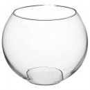 transparent ball vase d25xh20, transparent