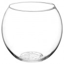transparent ball vase d19.5, transparent