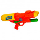 wholesale Toys: pao gun 2jets / 40cm pump, 2- times assorted