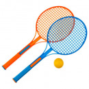 mayorista Raquetas y pelotas: raqueta de tenis x 2 + pelota