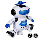 wholesale Sports & Leisure: robot dancer sound & light, white
