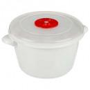 cocotte micro-onde 1,5l, blanc