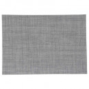 set table texal 50x35cm gris, gris clair