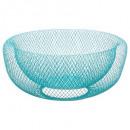 malla de malla cesta 27cm, azul medio