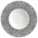 plato blanco 23c blanco asimetría hueco