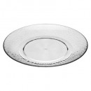 assiette dessert estiva 20cm, transparent