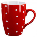 mug m pois rouge 32cl
