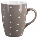 taza redondo guisante taupe 32cl