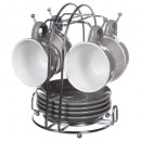 wholesale Houshold & Kitchen:gray x4 rack mug