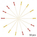 Fantasie-cocktailsticks x50, 3 maal geassorteerd ,