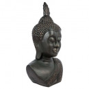 head of Buddha h113, black