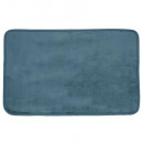 tapis velours orage 50x80, bleu orage