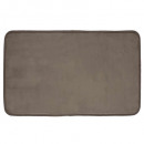 Samt Taupe Teppich 50x80, Taupe