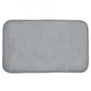 gray velvet carpet 50x80, gray