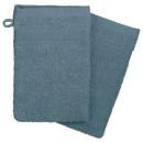 wholesale Bath & Towelling: glove x2 450gsm storm 15x21, dark blue