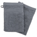 wholesale Bath & Towelling: glove x2 450gsm dark gray15x21, dark gray