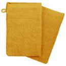 glove x2 450gsm ocher 15x21, yellow