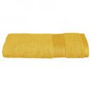 450gsm ocher towel 50x90, yellow