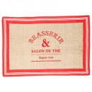 tapis ganse bistrot 60x90, 2-fois assorti, couleur