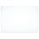 alfombra de baño 700gsm blanco 50x70, blanco