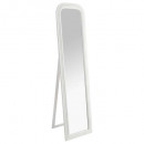 miroir s / pied blanche adele 40x160, blanc