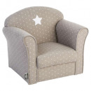 classic taupe armchair, taupe