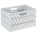 white-taupe mdf crate, white