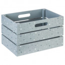 gray, gray mdf crate