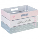 Princess mdf crate, multicolored