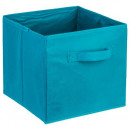 lagoon storage bin, medium blue