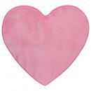 mayorista Limpieza: tapete de microfibra corazón l80, rosa