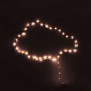 LED vorm wolk 52, grijs
