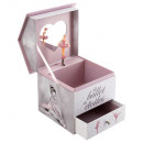 wholesale Gifts & Stationery: ballerina musical box, multicolored
