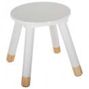 sweet stool white, white