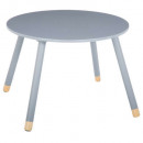 wholesale Children's Furniture: gray soft table d.60 cm, gray