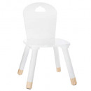 white sweetness chair, white