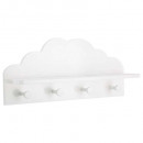 wholesale Small Furniture: patere white cloud x4, white