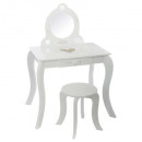 wholesale Home & Living: dressing table + stool, multicolored