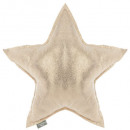 wholesale Cushions & Blankets: Pillow star gold 46 x 46, gold