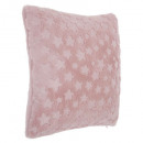 wholesale Cushions & Blankets: Pillow fake fur pink 40x40, pink